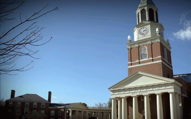 Wake Forest University: Stewardship